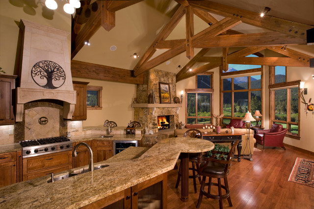 Woods traditional-kitchen