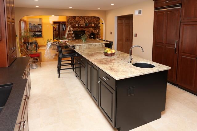 Woodstock Kitchen Remodel traditional-kitchen