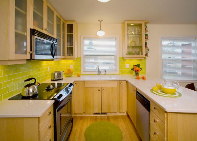 Retro modern kitchen 28 images retro modern kitchen by schiffini design a kitchen make a - Modern vintage kitchen ...