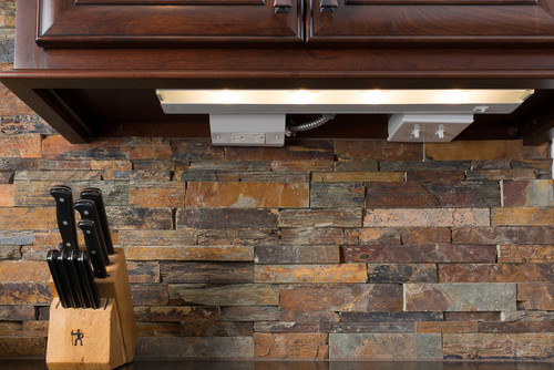 Stone Veneer Backsplash : Love the stone backsplash is this real or veneer