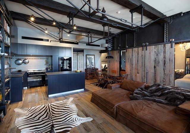 Woolloomooloo Apartment | Finger Wharf - Eklektisch - Küche - Sydney ...