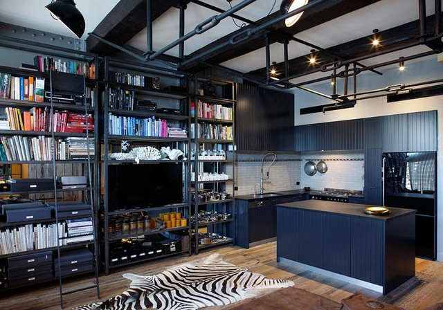 Woolloomooloo Apartment Finger Wharf Eclectic Kitchen