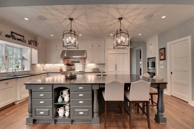 Woolman Woods traditional-kitchen