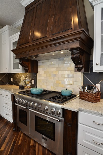 Woolman Woods Model - Spring 2012 traditional-kitchen