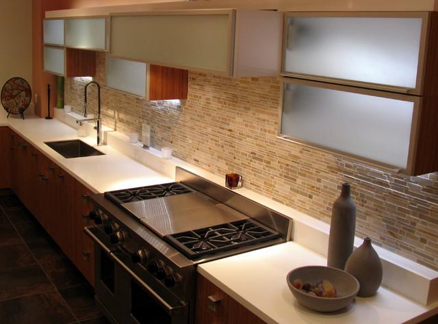 Working Showroom Kitchen, Salem, MA contemporary-kitchen