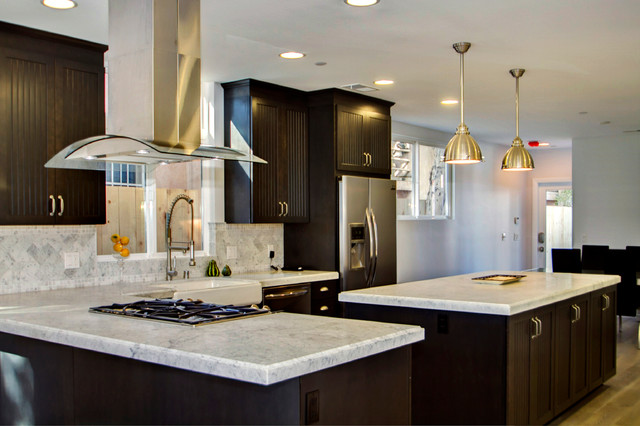 Working with The Beach Builder - Contemporary - Kitchen - san diego - by Stones Unlimited