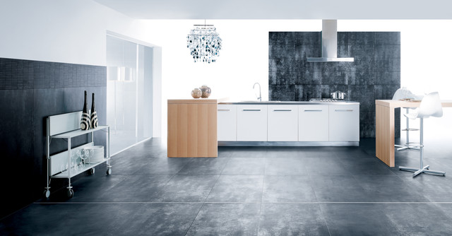 Workshop Modern Kitchen Tile   Rectified, Modular, Through Body Porcelain  Tile Modern