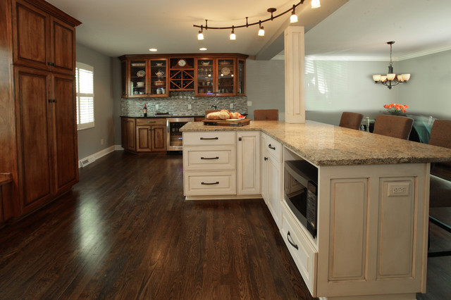 Worthington kitchen traditional kitchen other by for Angela bonfante kitchen designs