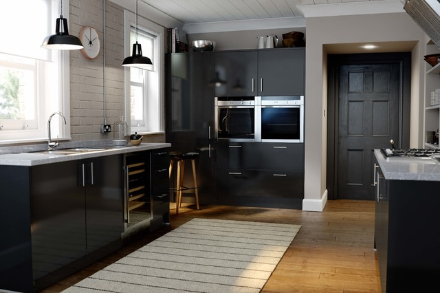 Wren Kitchens Autograph Black Gloss