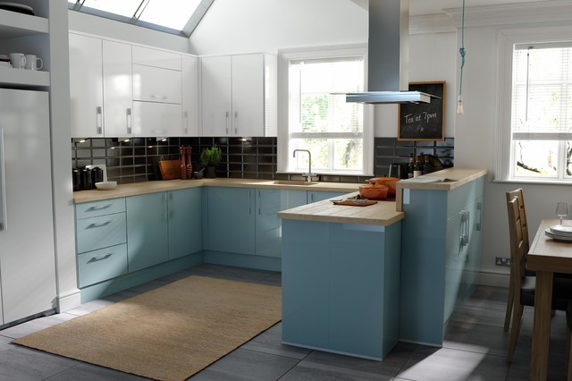 Wren Kitchens Pacrylic Blue Quartz