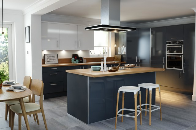 Wren Kitchens Pacrylic Graphite