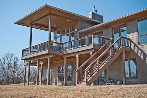 Wright house modern-kitchen