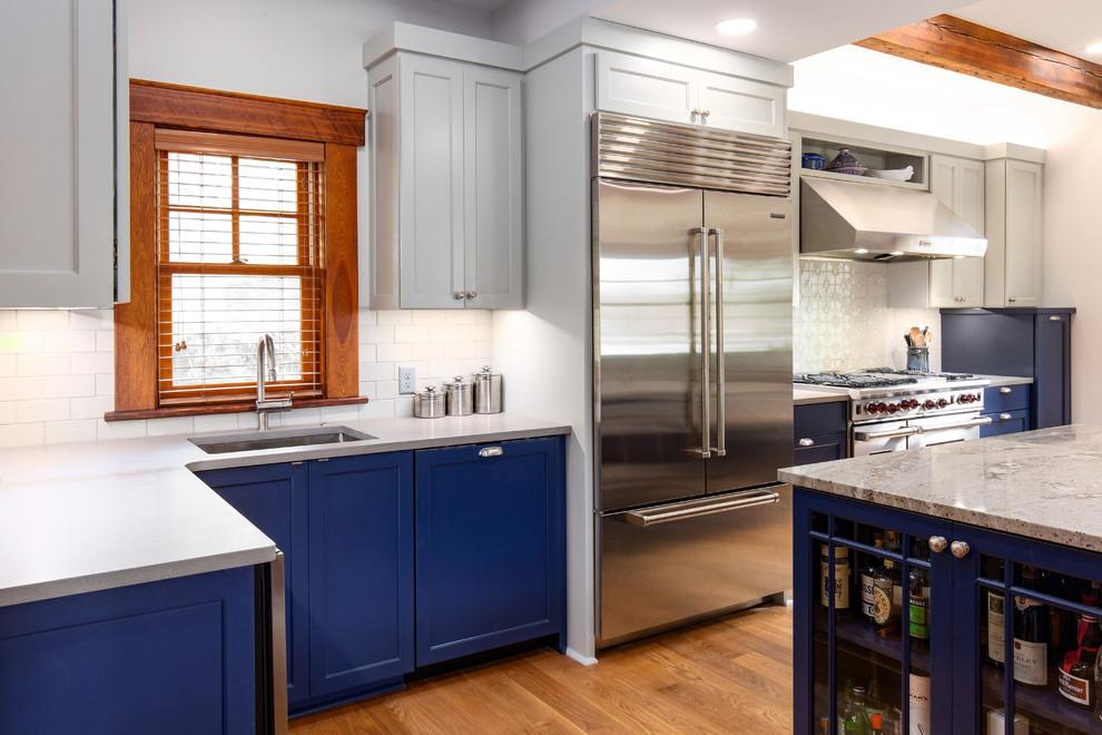 Wyandotte House - Kansas City - Craftsman - Kitchen ...