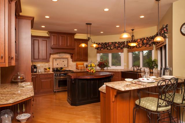 Wynstone Residence traditional-kitchen
