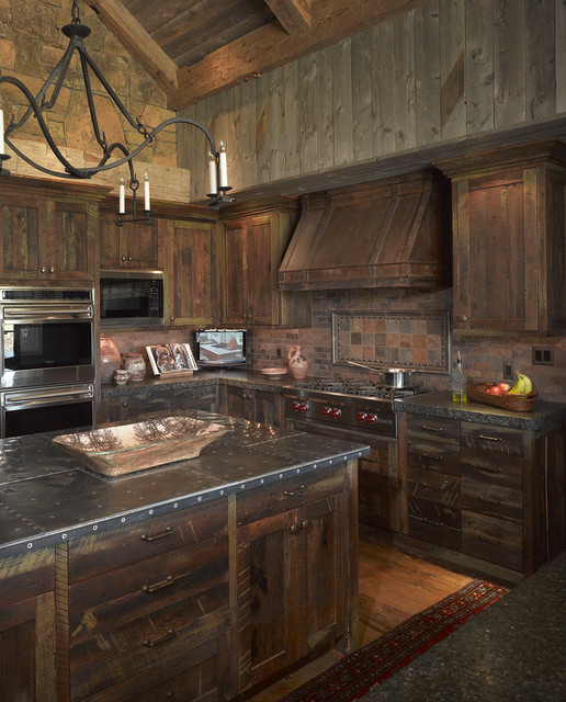 Eclectic Kitchens: Wyoming Getaway