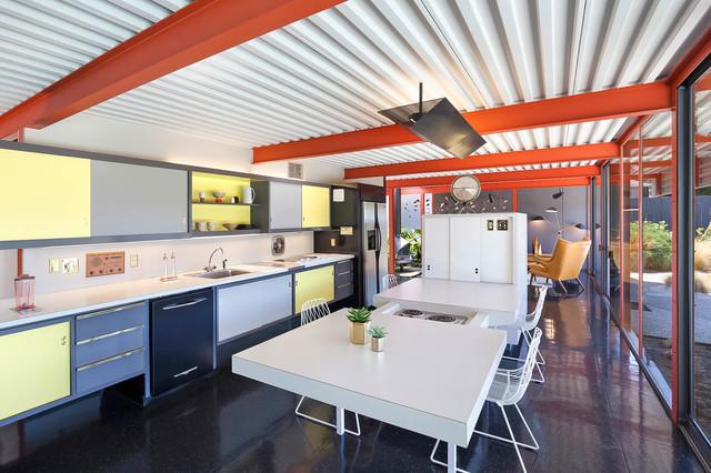 X 100 Eichler Homes San Mateo Highlands Midcentury Kitchen