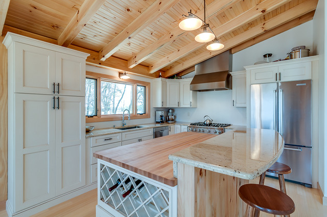 Yellow Branch Cabin traditional-kitchen