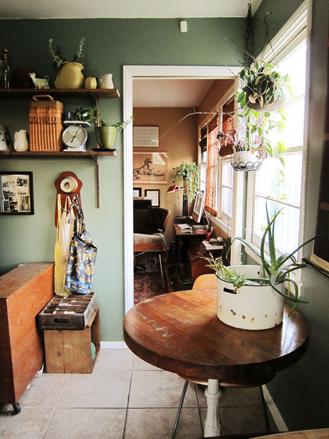 yellow green kitchen eclectic kitchen los angeles