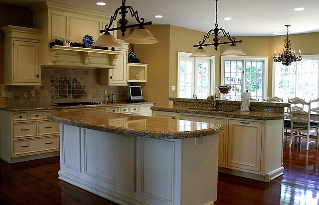 Yellow Kitchen traditional-kitchen