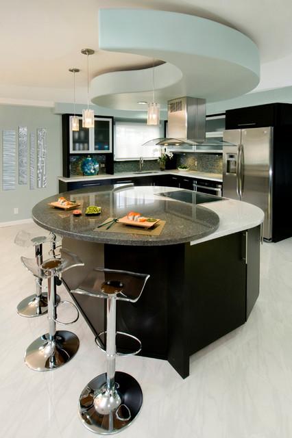 Yin Yang contemporary-kitchen