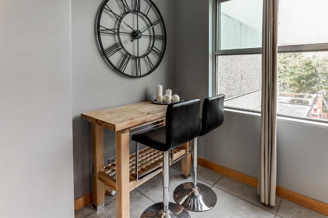 Yonge Eglinton Loft Living Industrial Kitchen Toronto By Hope Designs