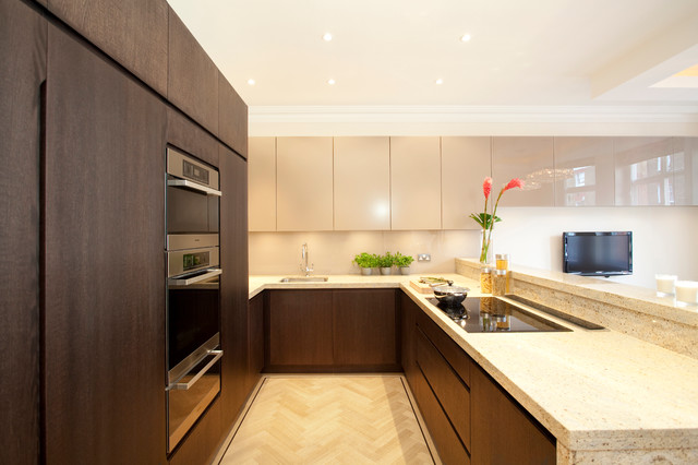 York house contemporary kitchen london by increation for Modern kitchen london
