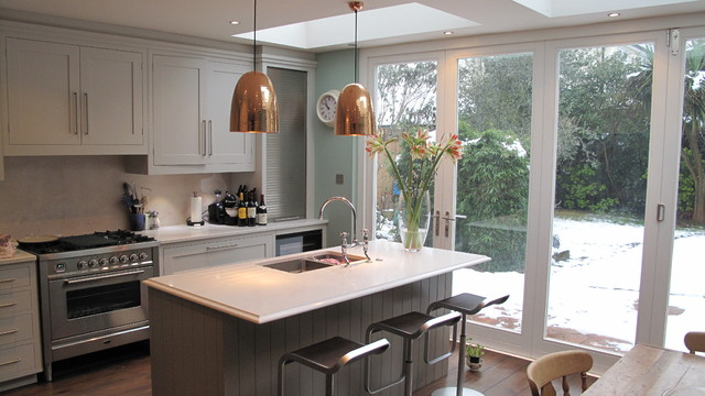 yorkshire construction and maintenance modern kitchen