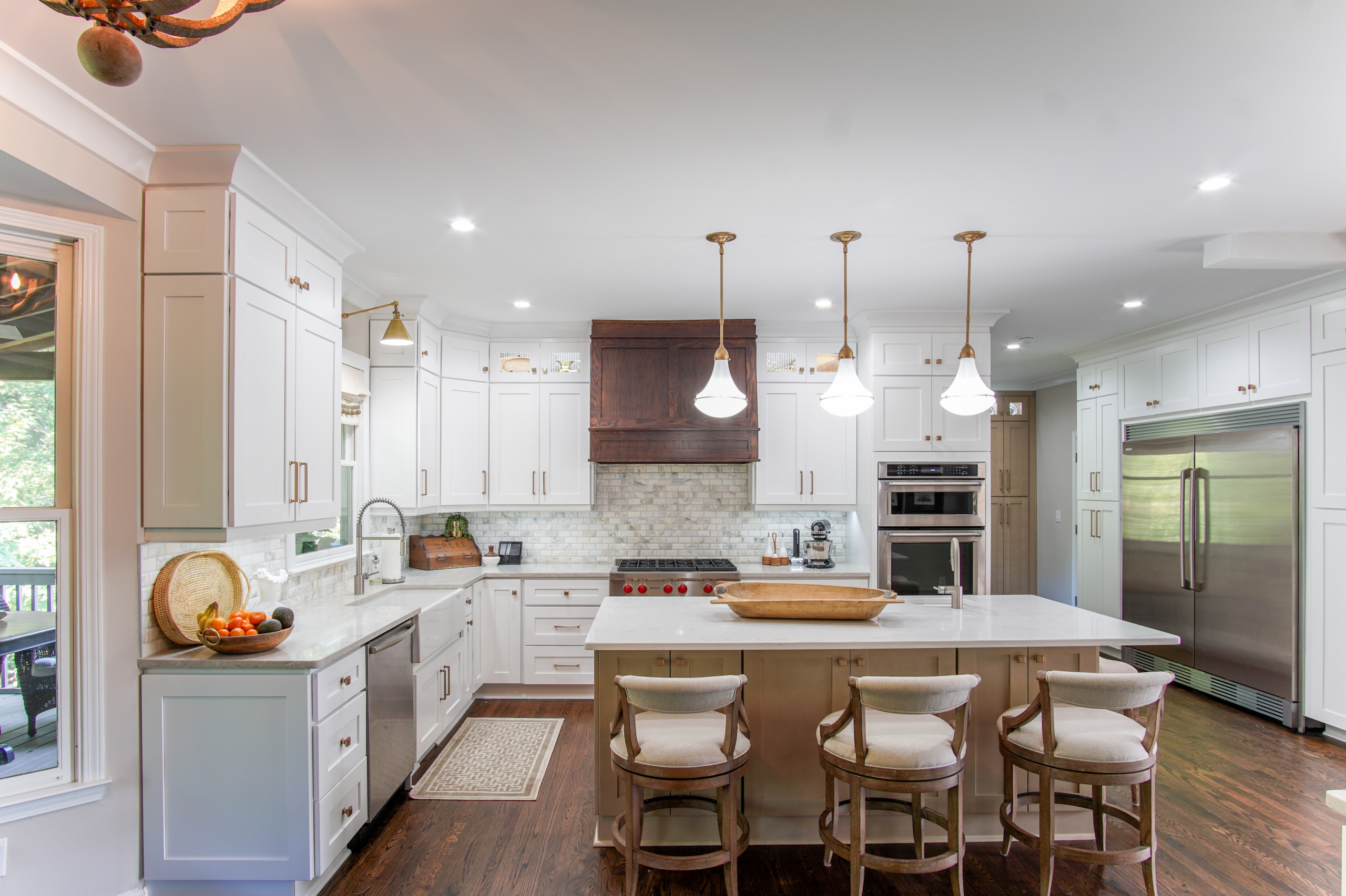 75 Beautiful Kitchen With Subway Tile Backsplash Pictures Ideas November 2020 Houzz