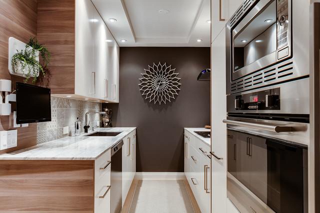 Yorkville Condo Modern Kitchen Toronto By Estee Design Inc