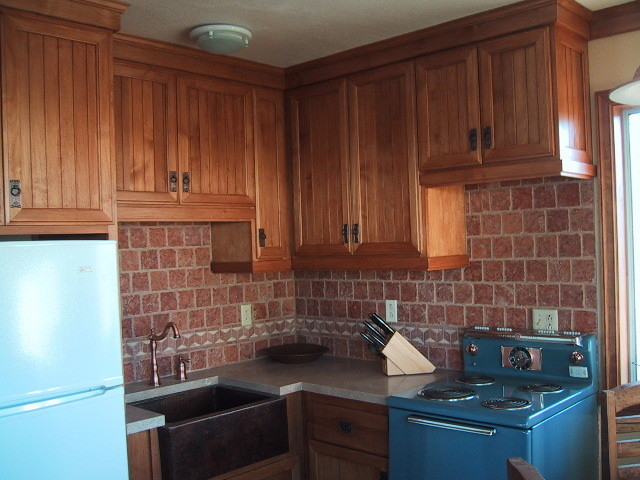 Yucca Valley Southwestern eclectic-kitchen