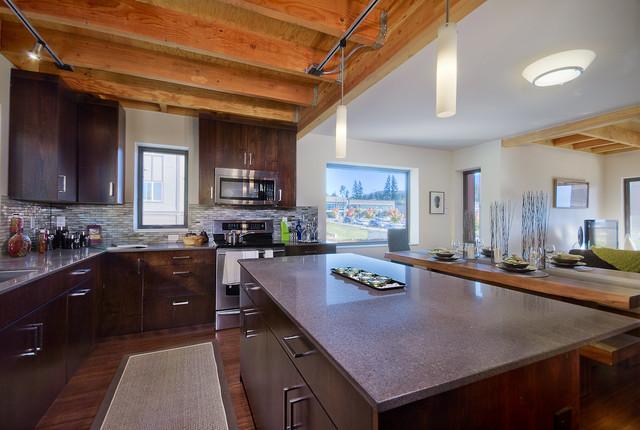 z-Home: Zero Net Energy Community in Issaquah, WA contemporary-kitchen
