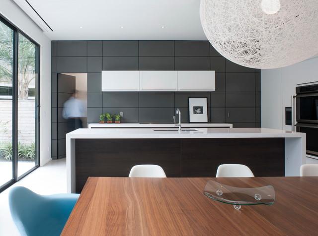 Zaguan House - Moderno - Cocina - Houston - de Murphy Mears Architects