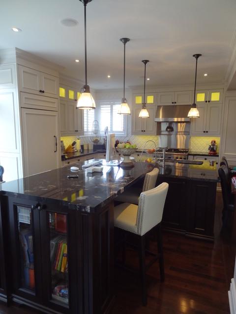 Zavitz Renovation/Bathroom/Kitchen/Library traditional-kitchen