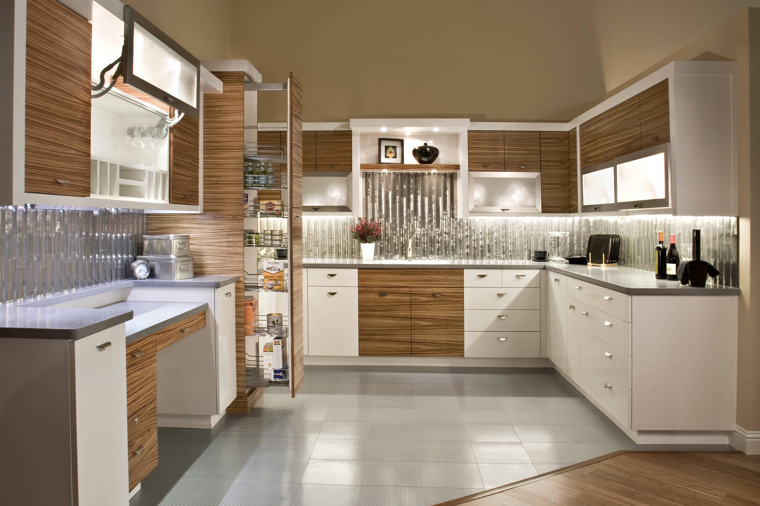 Zebra Wood Cabinets Kitchen Ideas Photos Houzz