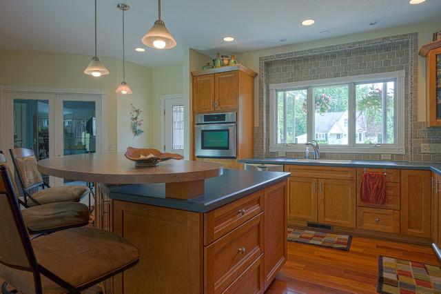 zeeland michigan renovation transitional kitchen