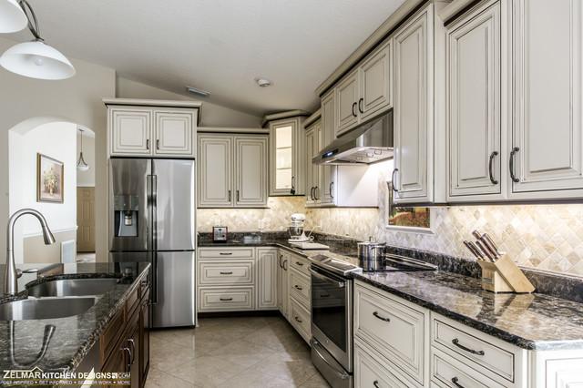 Zelko waypoint home remodel traditional kitchen for Zelmar kitchen designs