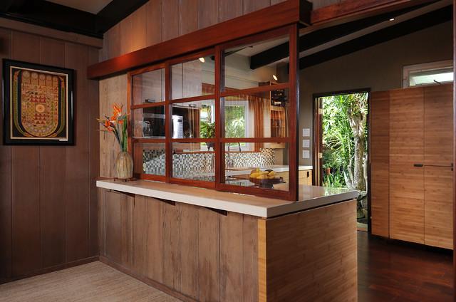 Zen kitchen island style tropical kitchen other for Modern zen kitchen