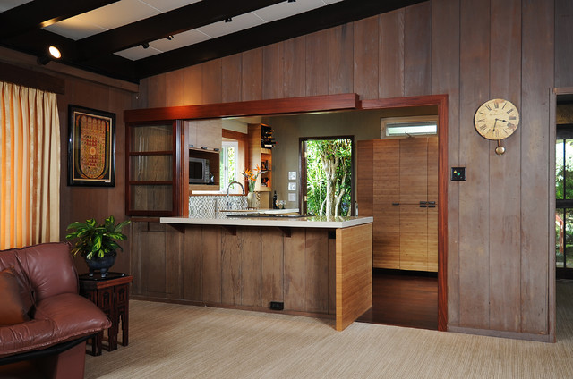 Zen Kitchen Island Style Tropical Kitchen Hawaii By Mcyia Interior Architecture And Design