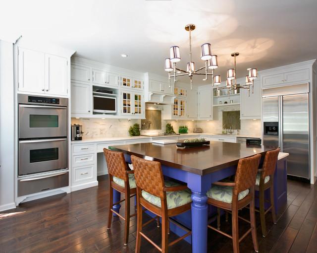 Zen Kitchen transitional-kitchen