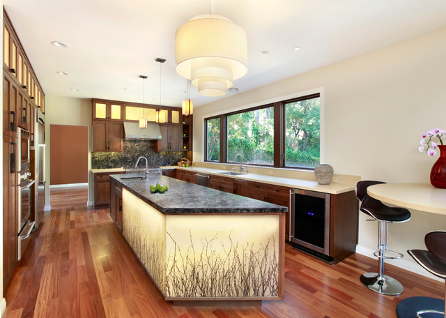 Zen Kitchen Contemporary Kitchen San Francisco By