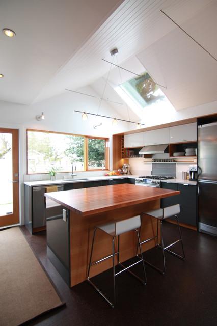 Zerbey remodel modern kitchen seattle by studio for Kitchen designer seattle