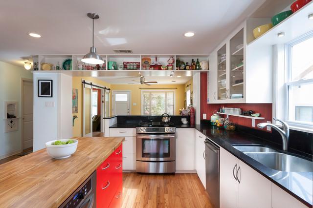 Zilker Kitchen transitional-kitchen