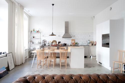 Aménager sa cuisine : 15 îlots de cuisine avec coin repas