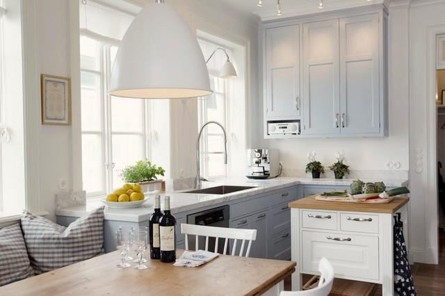 Kök kök klassisk : Veckans kök: Klassisk skönhet och en helt ny färg i Marstrand