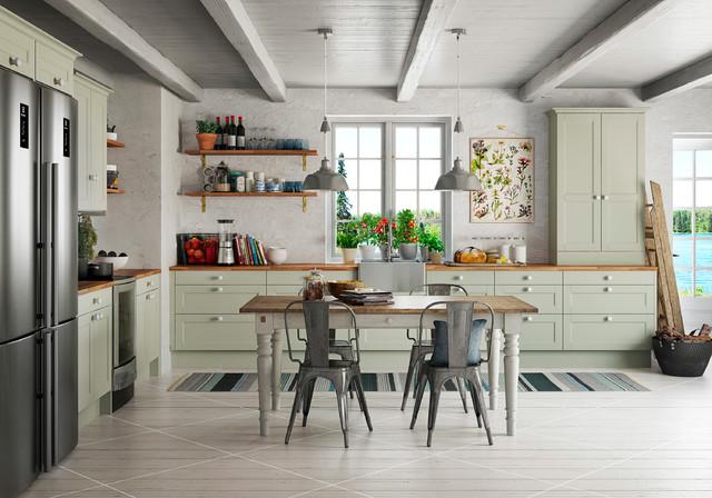 Inspiration - Kök - Landhausstil - Küche - Stockholm - von ...