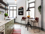 farmhouse kitchen Your Dining Style: 9 Strategies for Eat In Kitchens (16 photos)
