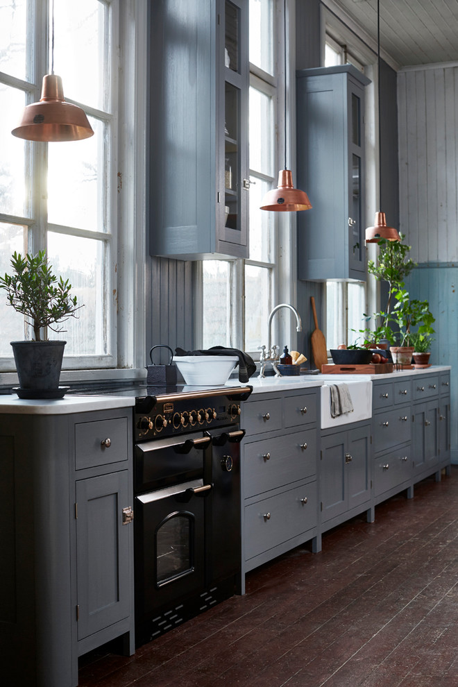 Example of a classic kitchen design in Stockholm