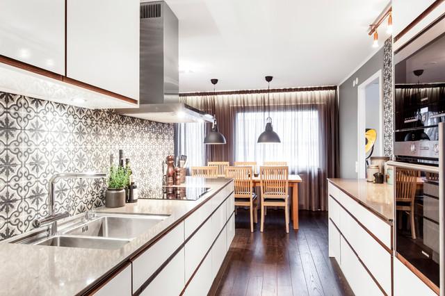 Veckans kök Ett ombonat kök perfekt för en barnfamilj i Göteborg