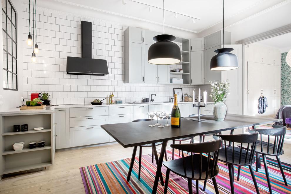 厨房北欧风格效果图大全2017图片_土拨鼠温暖个性厨房北欧风格装修设计效果图欣赏