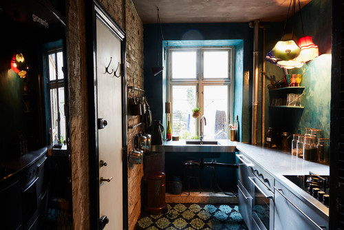 eclectic kitchen interiors